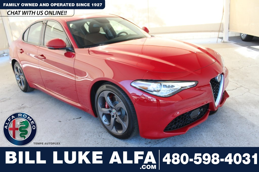 New 2019 Alfa Romeo Giulia Base Sedan In Tempe An0334 Bill Luke